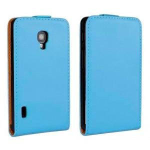 Чехол книжка вертикальная для LG Optimus L7 2 II P713 Голубой