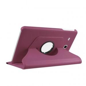 Чехол подставка роторный для Samsung Galaxy Tab E 9.6 Фиолетовый