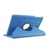 Чехол подставка роторный для Samsung Galaxy Tab E 9.6 Голубой