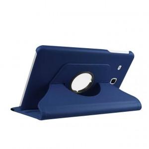 Чехол подставка роторный для Samsung Galaxy Tab E 9.6 Синий