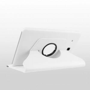 Чехол подставка роторный для Samsung Galaxy Tab E 9.6 Белый
