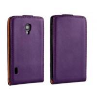 Чехол книжка вертикальная для LG Optimus L7 2 II P713 Фиолетовый
