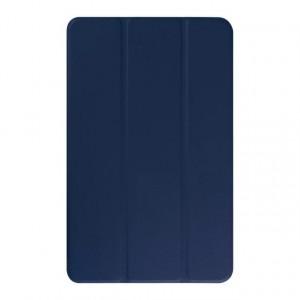 Текстурный чехол флип подставка сегментарный для Samsung Galaxy Tab E 9.6 Синий
