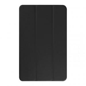 Текстурный чехол флип подставка сегментарный для Samsung Galaxy Tab E 9.6 Черный