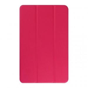 Текстурный чехол флип подставка сегментарный для Samsung Galaxy Tab E 9.6 Пурпурный