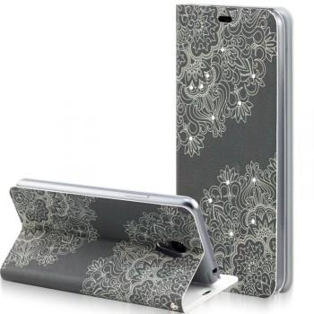 Текстурный чехол флип подставка на присоске для Meizu M2 Note