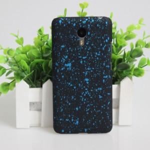 Пластиковый матовый дизайнерский чехол с с голографическим принтом Звезды для Meizu M2 Note