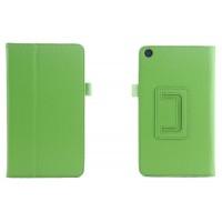 Чехол подставка с рамочной защитой для ASUS ZenPad C 7.0 Зеленый