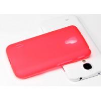 Силиконовый чехол для LG Optimus L7 2 Розовый