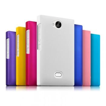 Пластиковый чехол серия Metallic для Nokia Asha 503