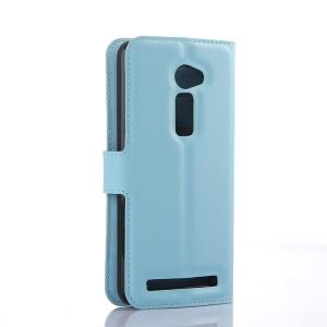 Чехол портмоне подставка на пластиковой основе с магнитной защелкой для Asus Zenfone 2 5