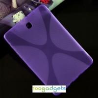 Силиконовый матовый X чехол для Samsung Galaxy Tab S2 8.0 Фиолетовый