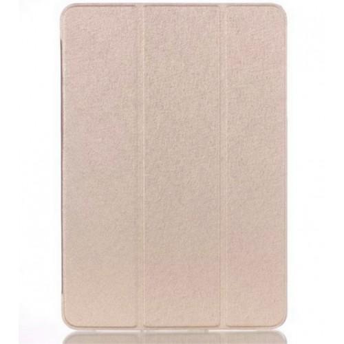 Текстурный чехол флип подставка сегментарный на пластиковой полупрозрачной основе для Samsung Galaxy Tab A 9.7