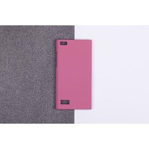 Пластиковый матовый непрозрачный чехол для Blackberry Leap