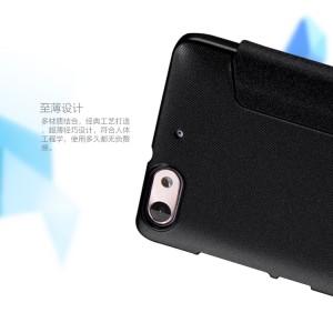Чехол флип на пластиковой нескользящей матовой основе для Huawei Honor 4C