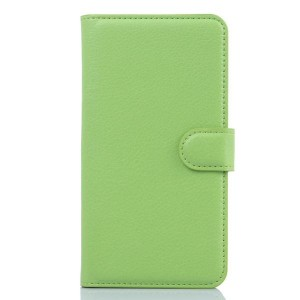 Чехол портмоне подставка с защелкой для Meizu M1 Note Зеленый