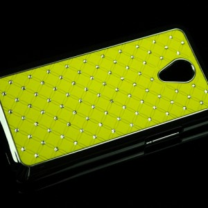 Пластиковый чехол со стразами для Meizu M1 Note