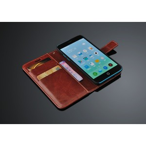 Чехол портмоне подставка с магнитной защелкой для Meizu M1 Note
