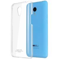 Пластиковый транспарентный чехол для Meizu M1 Note