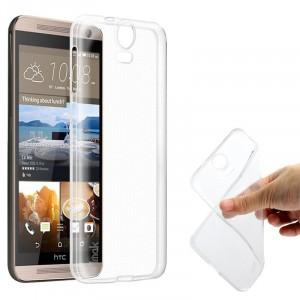 Силиконовый транспарентный чехол для HTC One E9+