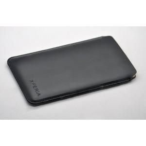Кожаный мешок для Sony Xperia Z3 Tablet Compact Черный