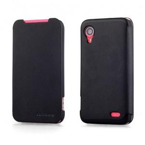 Чехол флип для Lenovo IdeaPhone S720 Черный