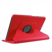 Чехол подставка роторный для Samsung Galaxy Tab S2 9.7 Красный