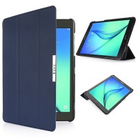 Чехол флип подставка сегментарный для Samsung Galaxy Tab S2 9.7 Синий
