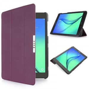 Чехол флип подставка сегментарный для Samsung Galaxy Tab S2 9.7 Фиолетовый