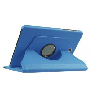 Чехол подставка роторный для Samsung Galaxy Tab S2 8.0 Голубой