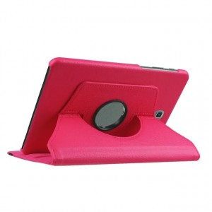 Чехол подставка роторный для Samsung Galaxy Tab S2 8.0 Пурпурный