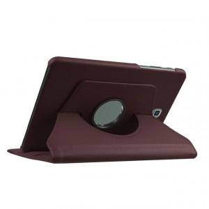 Чехол подставка роторный для Samsung Galaxy Tab S2 8.0 Коричневый