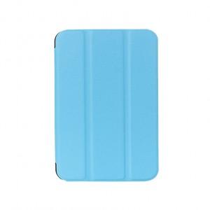 Чехол флип подставка сегментарный для Samsung Galaxy Tab S2 8.0 Голубой