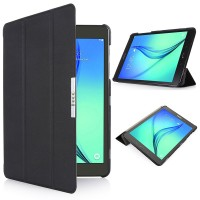 Чехол флип подставка сегментарный для Samsung Galaxy Tab S2 8.0 Черный