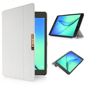 Чехол флип подставка сегментарный для Samsung Galaxy Tab S2 8.0 Белый