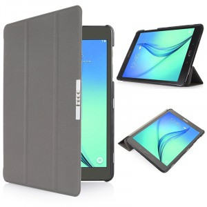 Чехол флип подставка сегментарный для Samsung Galaxy Tab S2 8.0 Серый