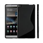 Силиконовый S чехол для Huawei P8 Max