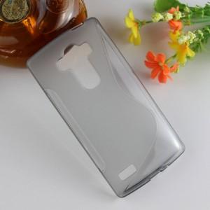 Силиконовый S чехол для LG G4 S Серый