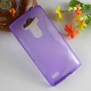 Силиконовый S чехол для LG G4 S Фиолетовый