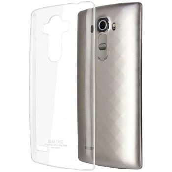 Пластиковый транспарентный чехол для LG G4 S