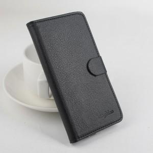 Чехол портмоне подставка на клеевой основе с магнитной застежкой для Explay Tornado Черный