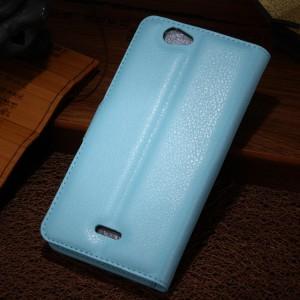 Чехол портмоне подставка на пластиковой основе с магнитной застежкой для Explay Neo