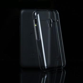 Пластиковый транспарентный чехол для Alcatel One Touch Pixi 3 (4.5)