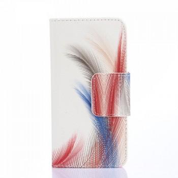 Дизайнерский чехол флип подставка с магнитной застежкой и полноповерхностным принтом для Explay Neo