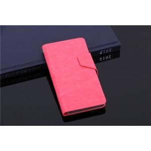 Чехол флип подставка со слотами для карт и магнитной застежкой для Explay Neo