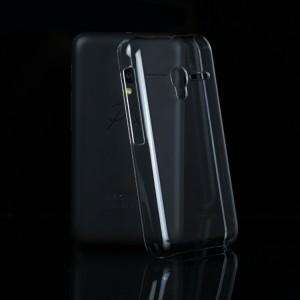 Пластиковый транспарентный чехол для Alcatel One Touch Pixi 3 (4.0)