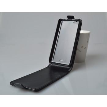 Чехол вертикальная книжка на пластиковой основе с магнитной застежкой для Explay Craft