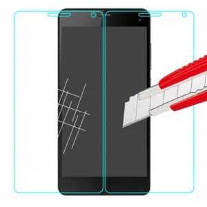 Ультратонкое износоустойчивое сколостойкое олеофобное защитное стекло-пленка для ZTE Blade L3