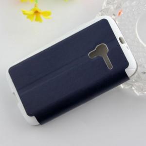 Текстурный чехол флип подставка на присоске для Alcatel One Touch Pop D3