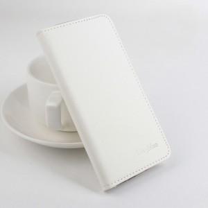 Чехол портмоне подставка матовой текстуры на клеевой основе с магнитной застежкой для Highscreen Spider